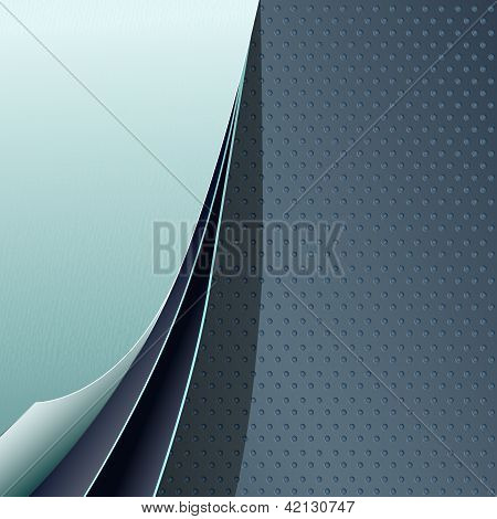 Blue sheets background