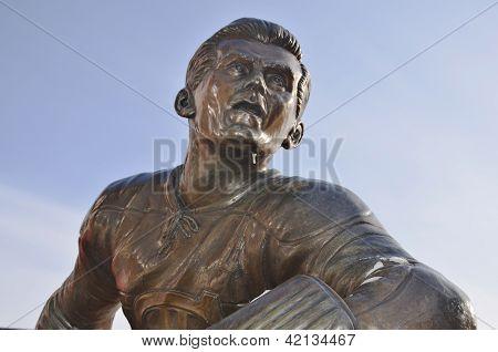 Statue of Maurice Richard