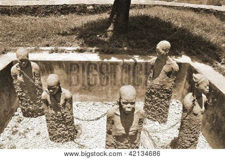 Monument to slaves