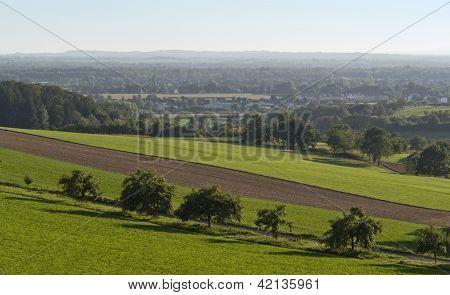 Agricultural View Around Emmendingen