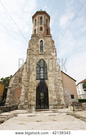 Surviving Tower of the Church of St. Mary Magdalene, Old Town of Buda, Hungary