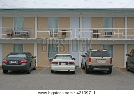 Cheap Motel Exterior