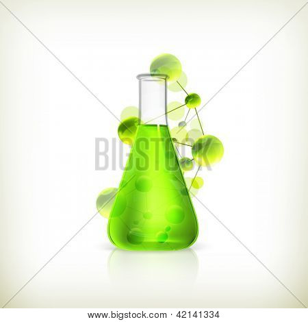 Laboratory flask, bitmap copy