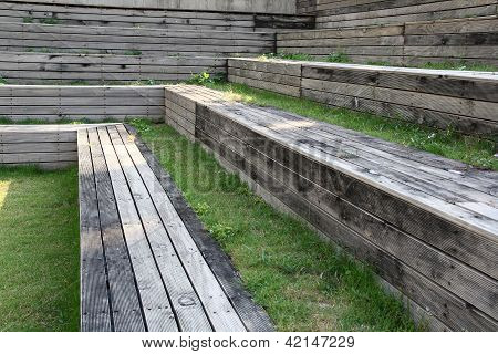 Outdoor Natural Grandstand