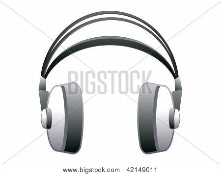 Abstract Headphone Icon