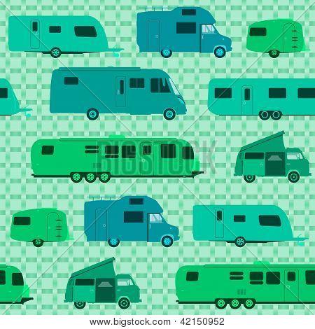 Patrón de camping