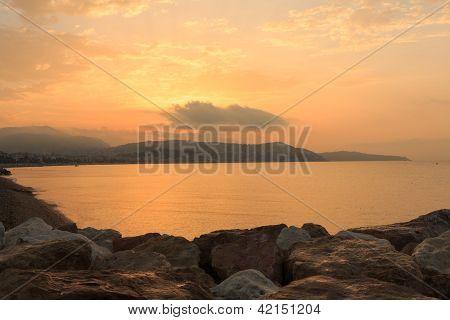 Riviera at sunrise