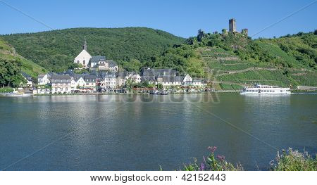 Beilstein,Mosel River,Germany