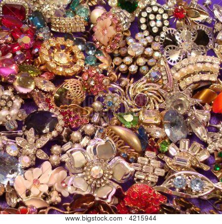 Rhinestone Earrings Glitter Galore