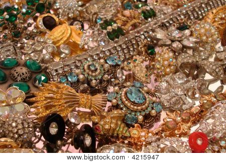 Rhinestone Jewelry Mix