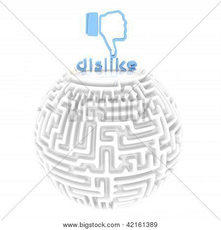 puzzling dislike maze