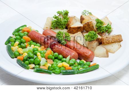 Potato And Vegetables