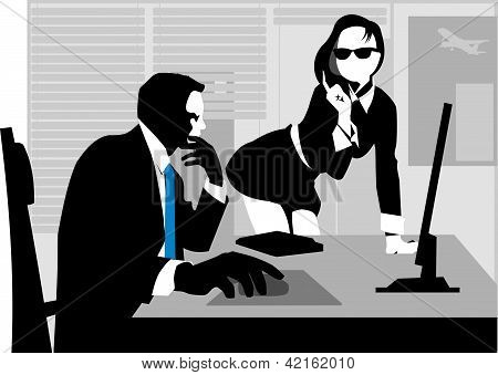 Boss And The Subordinate