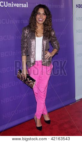 LOS ANGELES - JAN 06:  SARAH SHAHI arriving to TCA Winter Press Tour 2012: NBC Party  on January 06, 2012 in Pasadena, CA