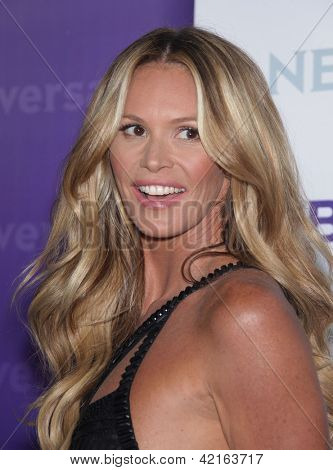 LOS ANGELES - JAN 06:  ELLE MacPHERSON arriving to TCA Winter Press Tour 2012: NBC Party  on January 06, 2012 in Pasadena, CA