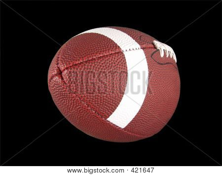 Isolated American Football