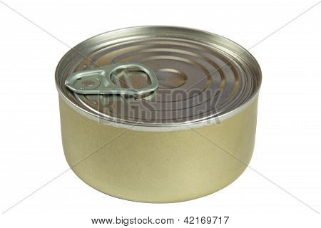 Tin Can Isolated