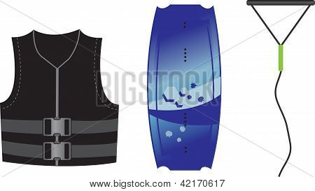 Wakeboard Equipment.eps