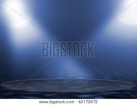 concert lighting against a dark background ilustration