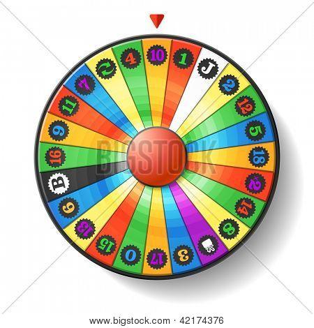Fortune Wheel. Vector.