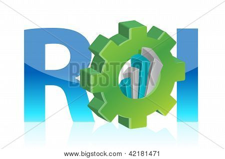 Return On Investment Business Concept