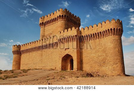 Ramani Castle in Azerbaijan XIV age