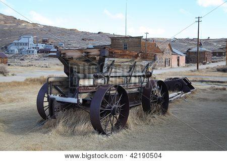 Derelict Cart, Bodie