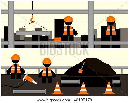 Workmen Banners