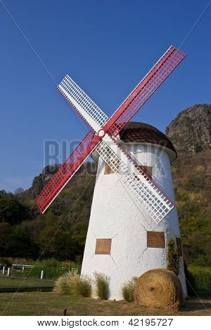 Swiss Sheep Farm Windmill5