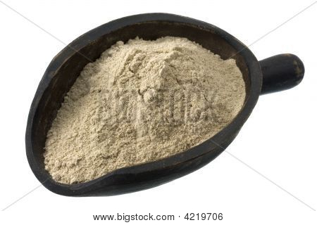 Scoop Of Buckwheat Flour