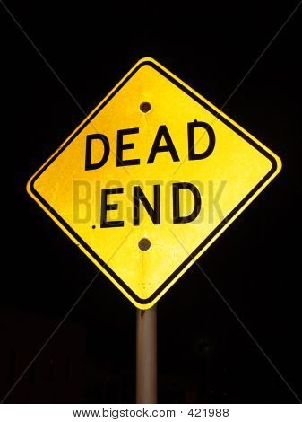 Night Sign Dead End