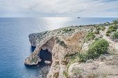 stock photo of grotto  - Blue Grotto  - JPG