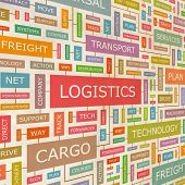 stock photo of pallet  - LOGISTICS - JPG