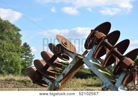 Old Rusty Plough detail