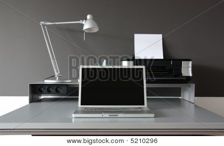 Frontal Home Office Desk