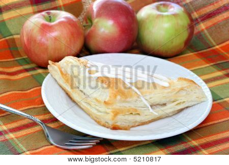 Apple Turnover With Fresh Apples