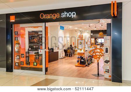 Orange Shop