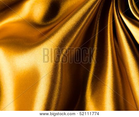 Abstract gold background luxury cloth