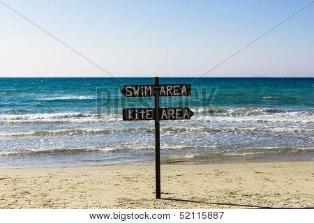 Swim Area / Kite Area