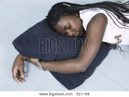 Teen Taking A Nap