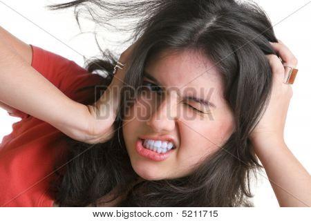 Depressed Female Teenager