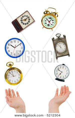 Juggling Hands And Clocks