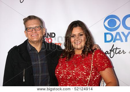 LOS ANGELES - OCT 8:  Drew Carey, Angelica McDaniel at the CBS Daytime After Dark Event at Comedy Store on October 8, 2013 in West Hollywood, CA