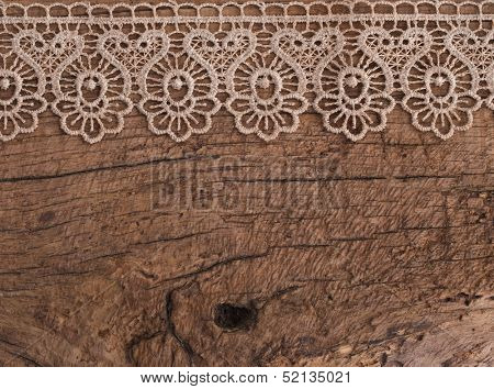 vintage background with beautiful lace