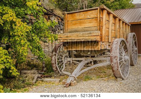 Authentic Ore Wagon