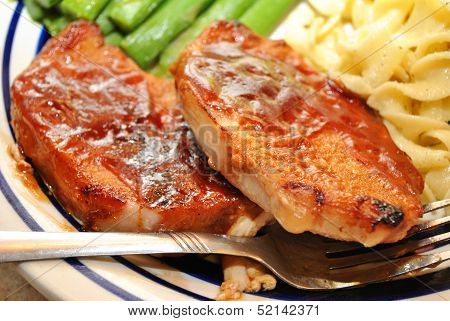 Sliced Pork with Sauce