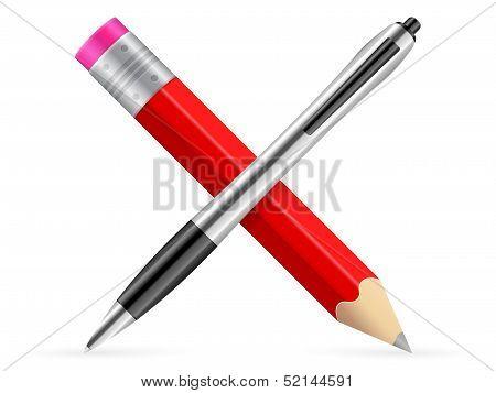Pencil And Pen Icon