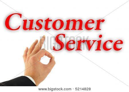 Excellent Customer Service Concept