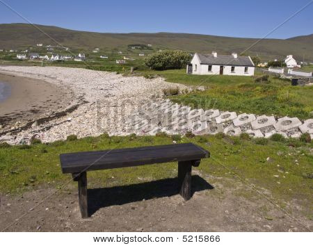 Bench Over Looking Beach