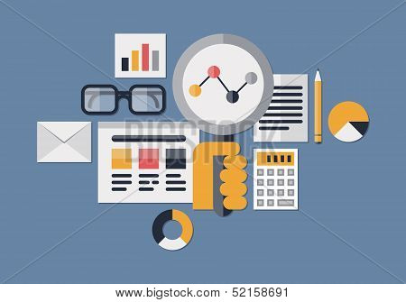 Web Analytics Illustration